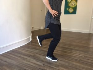leg stand exercises for skiing injuries
