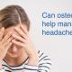 can osteopathy help manage headache