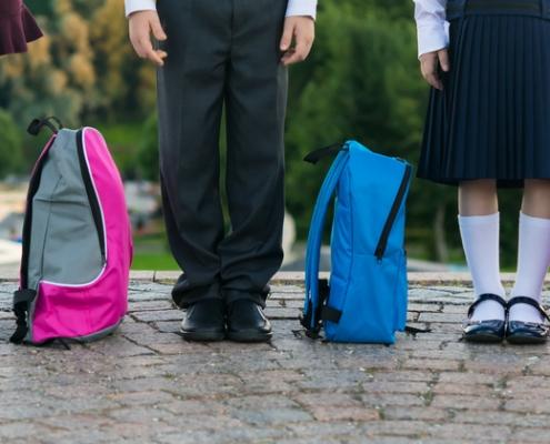 avoiding back pain - back to school