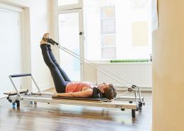 reformer Pilates - exercise after lockdown