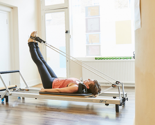 reformer Pilates - exercise after lockdown