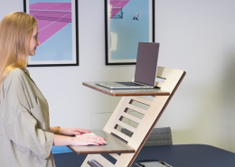 standing desk tips for working from home
